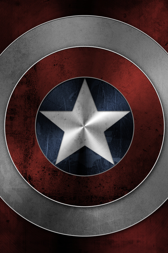 captain america shield retina wallpaper