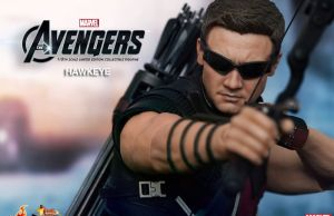 THE AVENGERS - Hot Toys Hawkeye Collectible Action Figure
