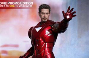 THE AVENGERS - Hot Toys IRON MAN Mark VI Collectible Action Figure