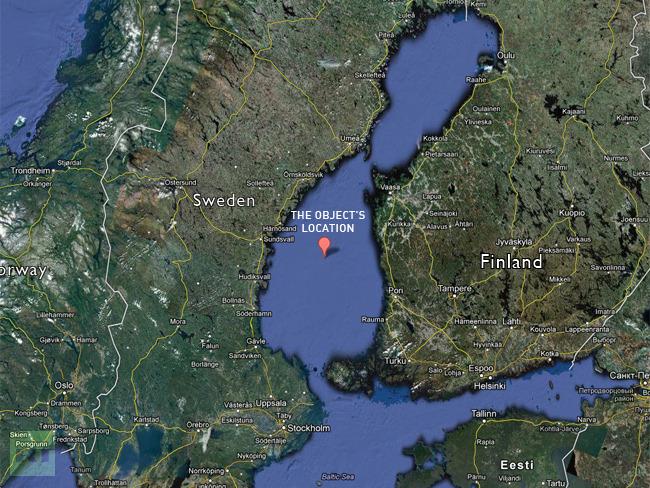 Baltic 'UFO': New dive