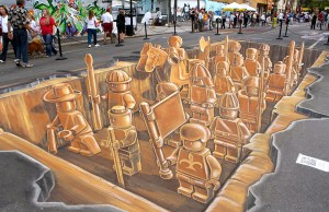 LEGO Army 3D Street Art (6)