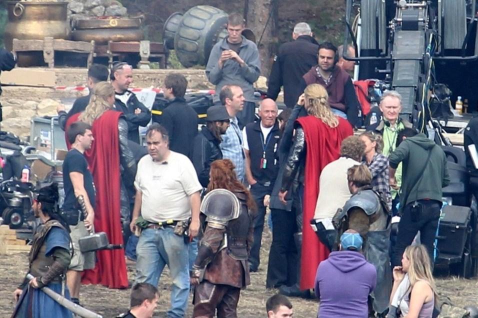 Thor 2 Set Photos