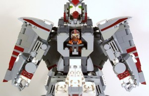 X-Wing Gundam - STAR WARS LEGO