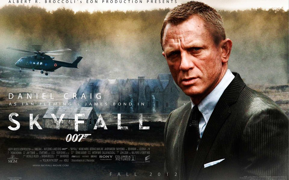 SKYFALL Adele Trailer with New Footage