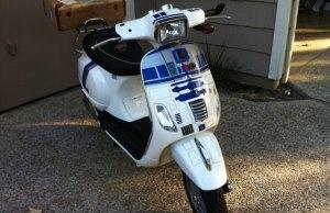 Cool R2-D2 Vespa (5)