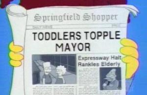 The 20 Best 'Simpsons' Headlines (1)