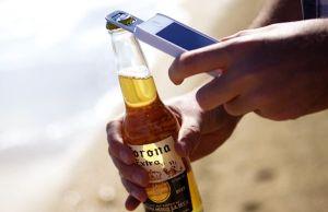 beer iphone 5 opener