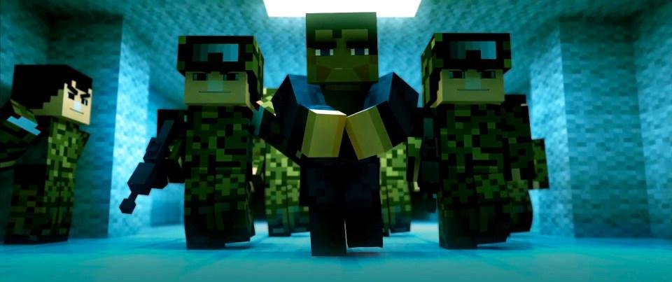Man Of Steel Trailer Minecraft Edition
