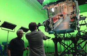 behind the scenes godzilla