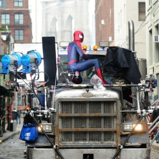New Set Photos From Amazing SpiderMan 2