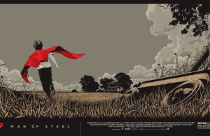 MAN OF STEEL Mondo Poster Art