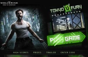 Wolverine promo game