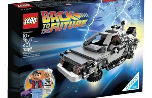 Official LEGO DeLorean Now Available