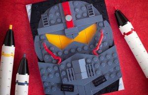 LEGO Pop-Culture Portraits