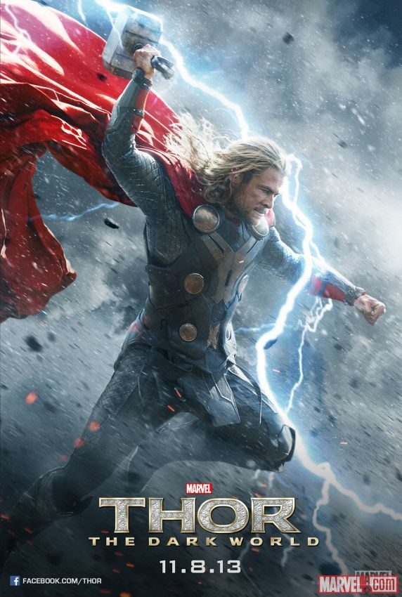 Thor: The Dark World character posters