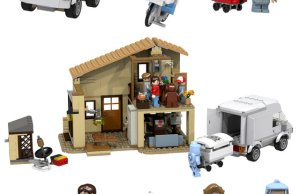 E.T. LEGO playset