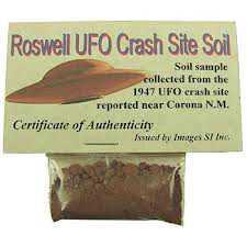 Roswell UFO Crash Soil