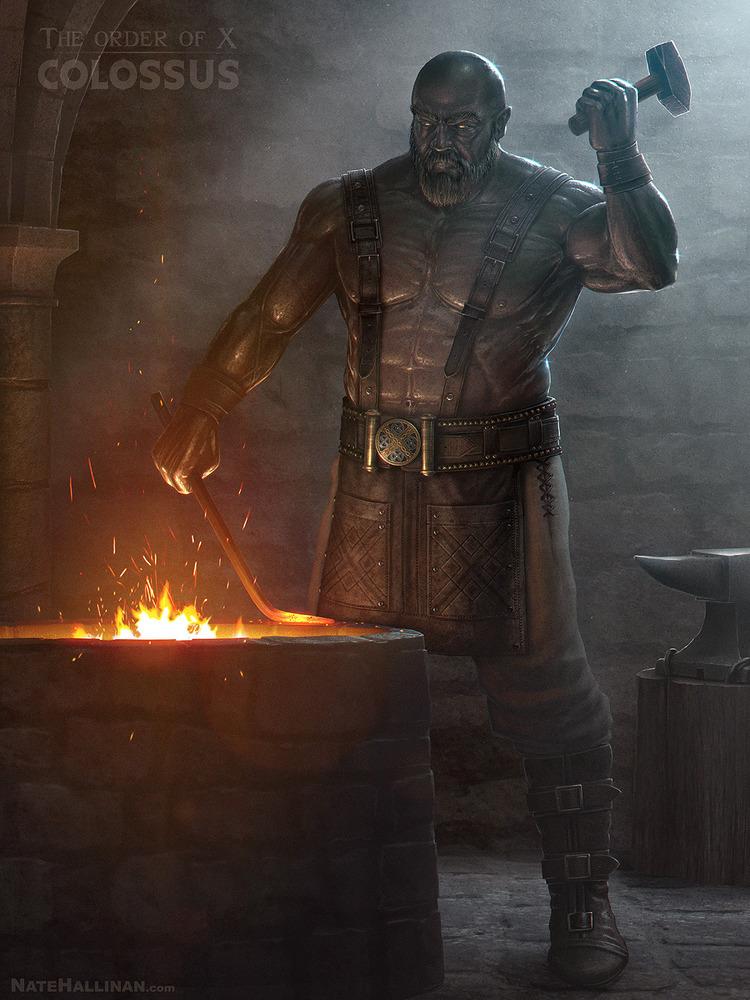 Medieval X-Men Character Art