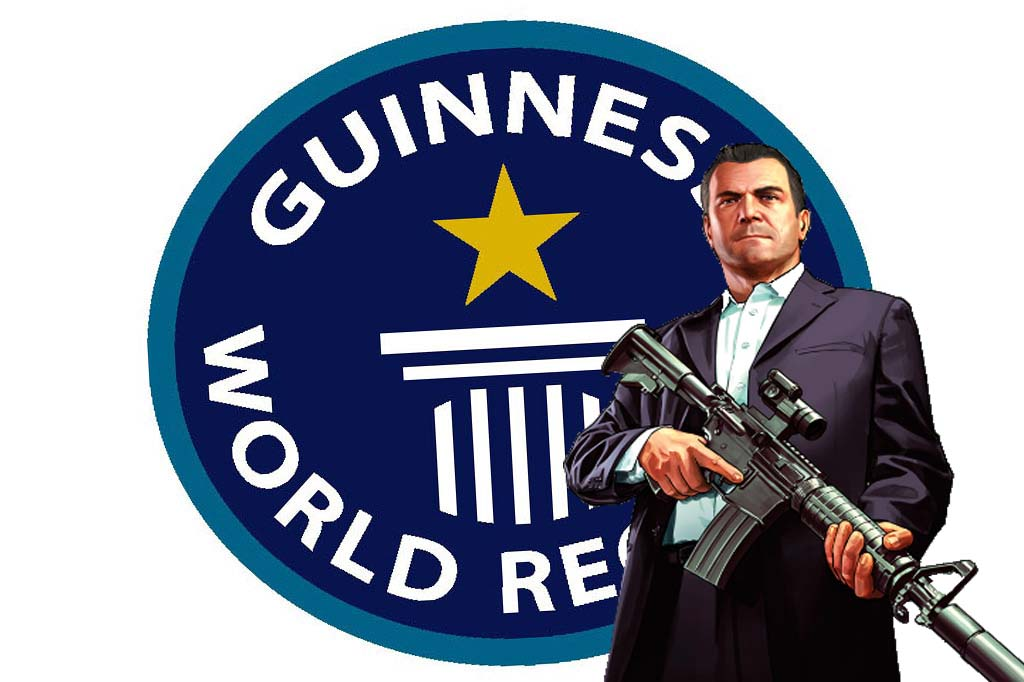 Gta 5 guiness records
