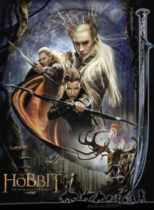 The Hobbit: The Desolation of Smaug elf poster