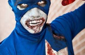 Captain America Undead cosplay