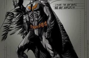 Ben Affleck as Batman Concept Art