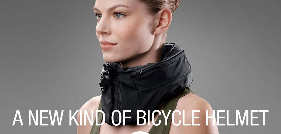 Invisible Bike Helmet