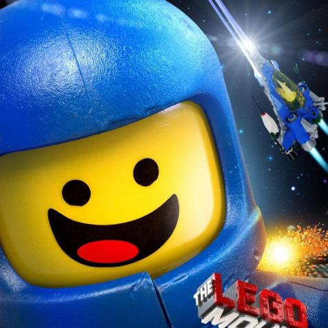 Poster for The LEGO Movie Featuring Charlie Day