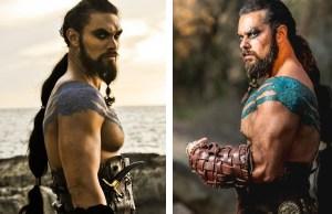 Epic Khal Drogo Cosplay