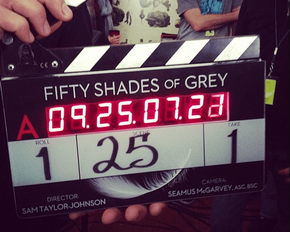 Fifty Shades of Grey Starts Filming