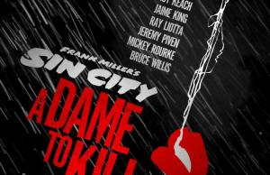 Sin City: A Dame to Kill Poster