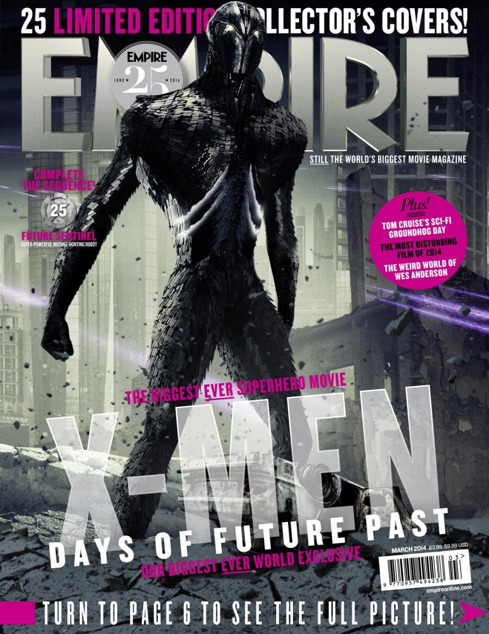 Empire Xmen Days Of Future Past Covers (9)