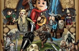 The Desolation of Smaug Lego Poster