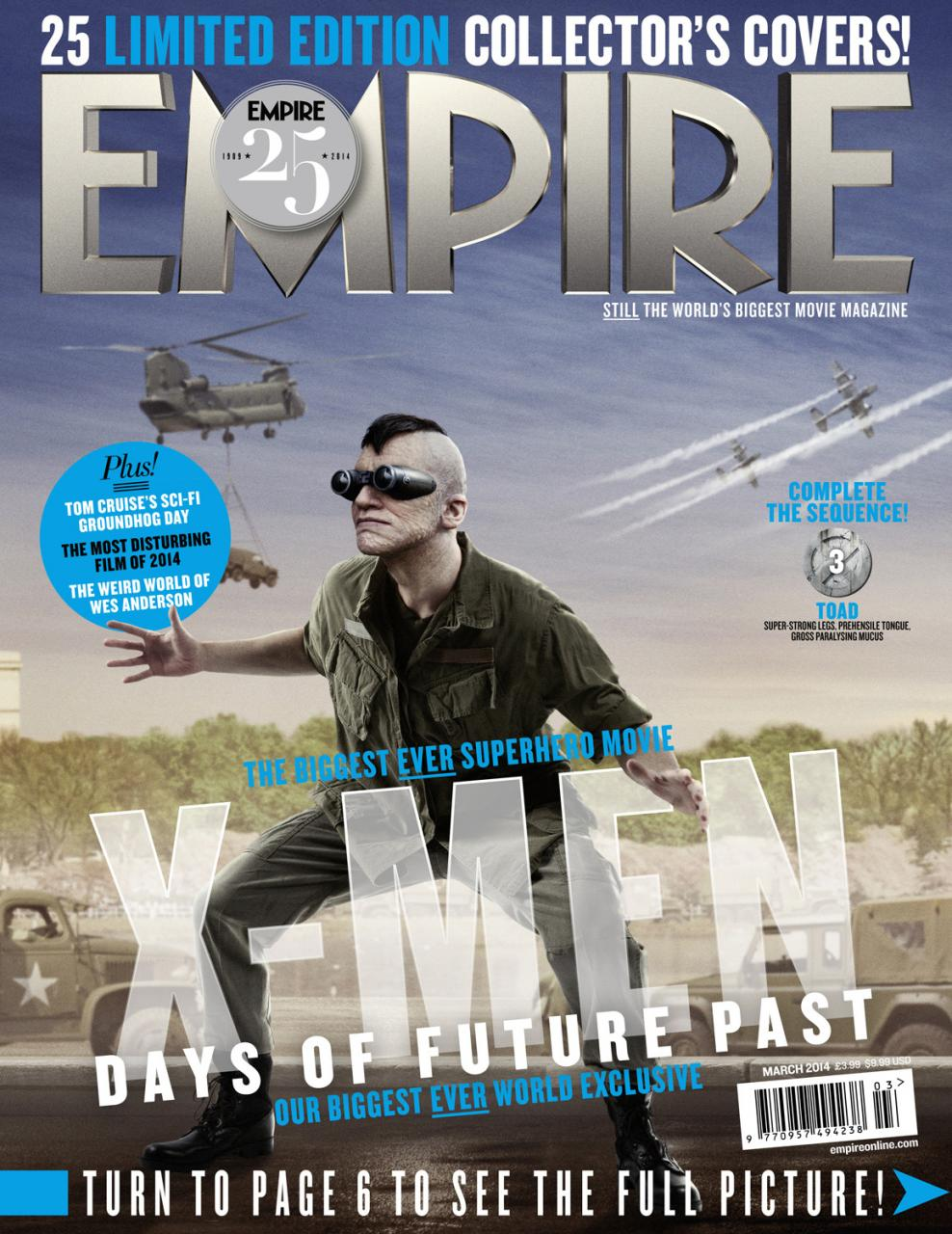 X-MEN DAYS OF FUTURE PAST Character Magazine Covers (8)