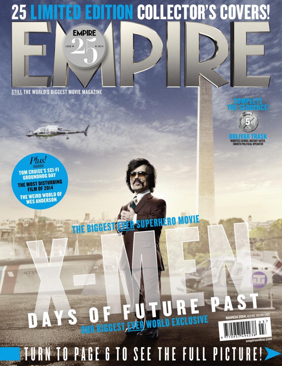 X-MEN DAYS OF FUTURE PAST Empire Magazine Covers  (14)