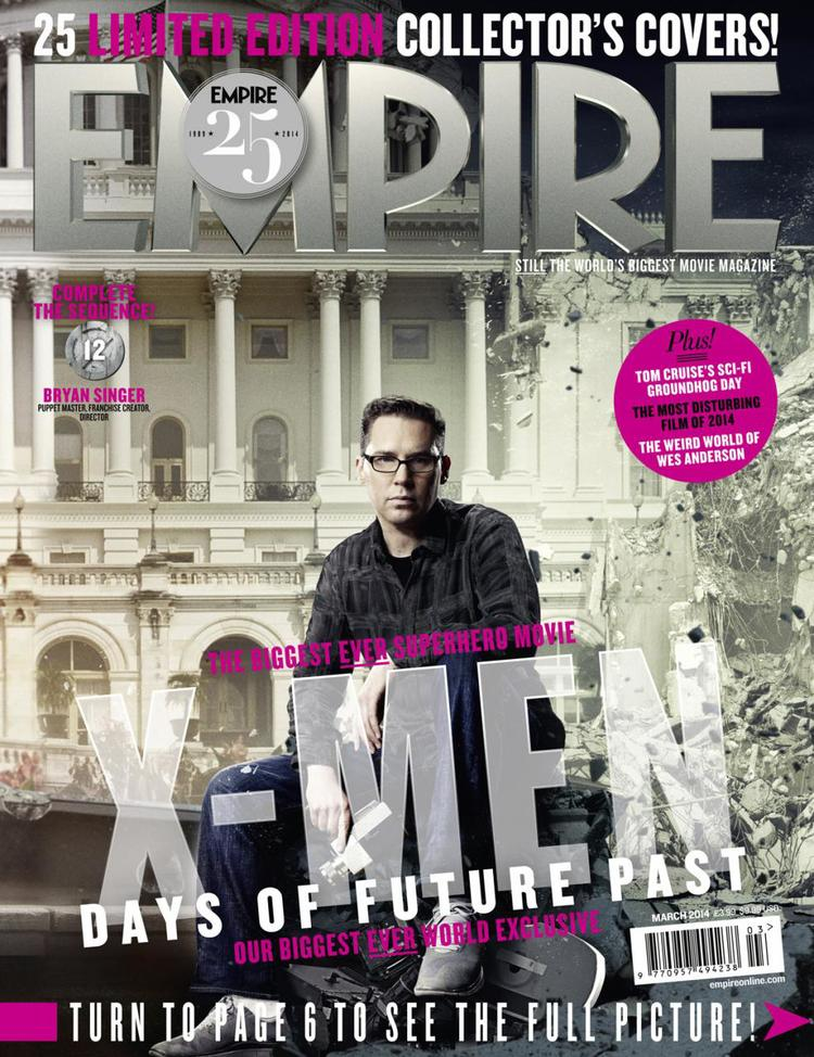 X-MEN DAYS OF FUTURE PAST Empire Magazine Covers  (16)