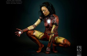 Iron Man Doesn't Need Armor, Just Body Paint