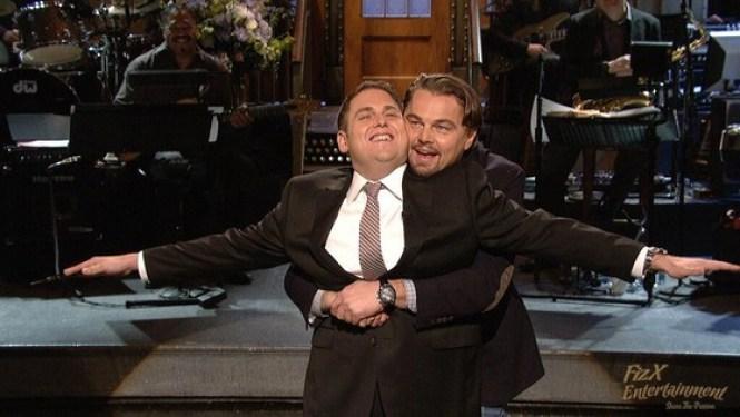 Leonardo DiCaprio Crashes Jonah Hill's SNL Monologue