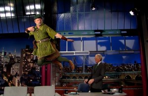 Bill Murray Being Pan At Letterman