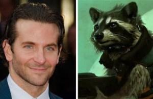 Bradley Cooper as Rocket Raccoon in GUARDIANS OF THE GALAXY