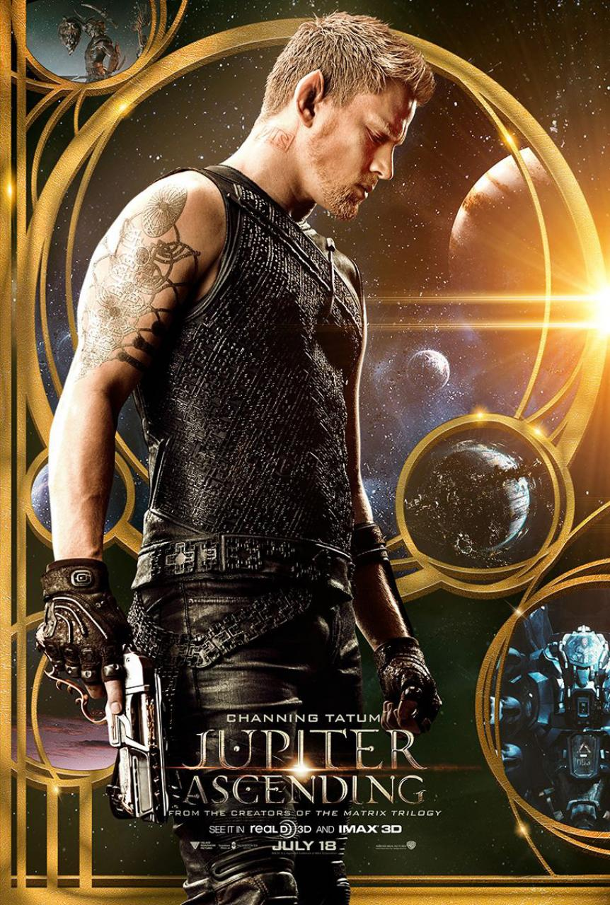 Jupiter Ascending Character Posters