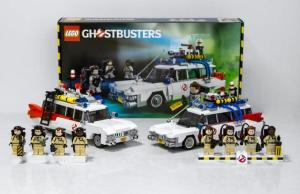 The Official GHOSTBUSTERS Ecto-1 LEGO Set Revealed