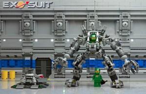ALIEN Inspired LEGO Exo Suit