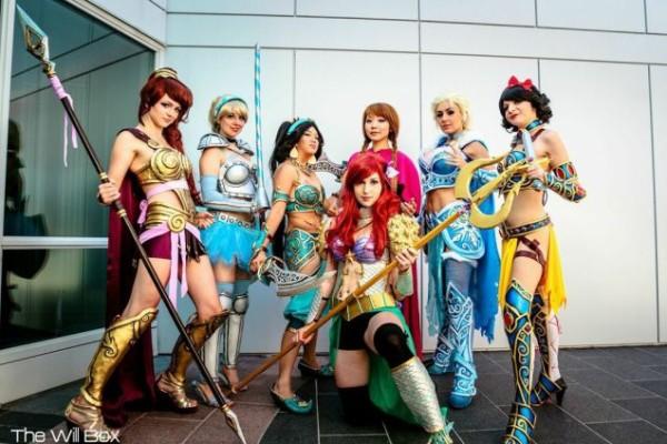 Disney Warrior Princesses