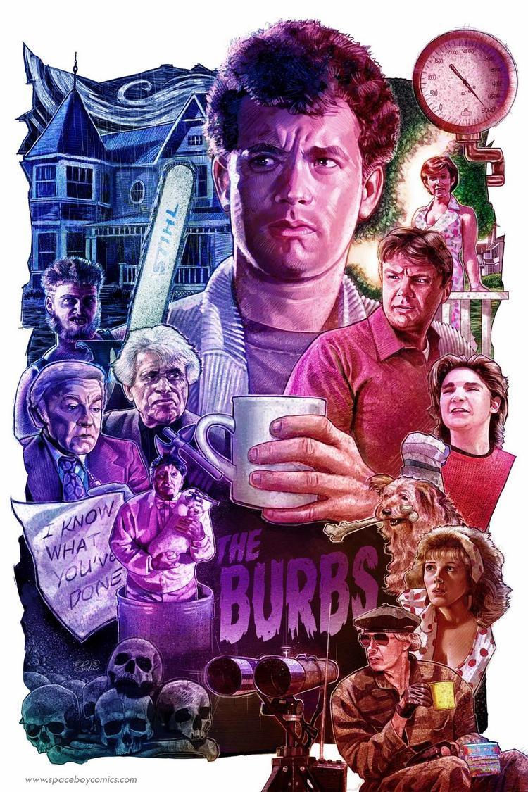 Poster Art for Tom Hanks, THE BURBS