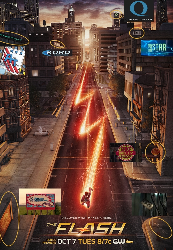 THE FLASH Poster Is Full of Easter Eggs