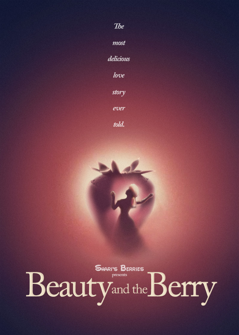 Berry Attack On The Iconic Movie Posters