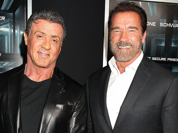 Sylvester Stallone And His Old Rivalry With Arnold Schwarzenegger