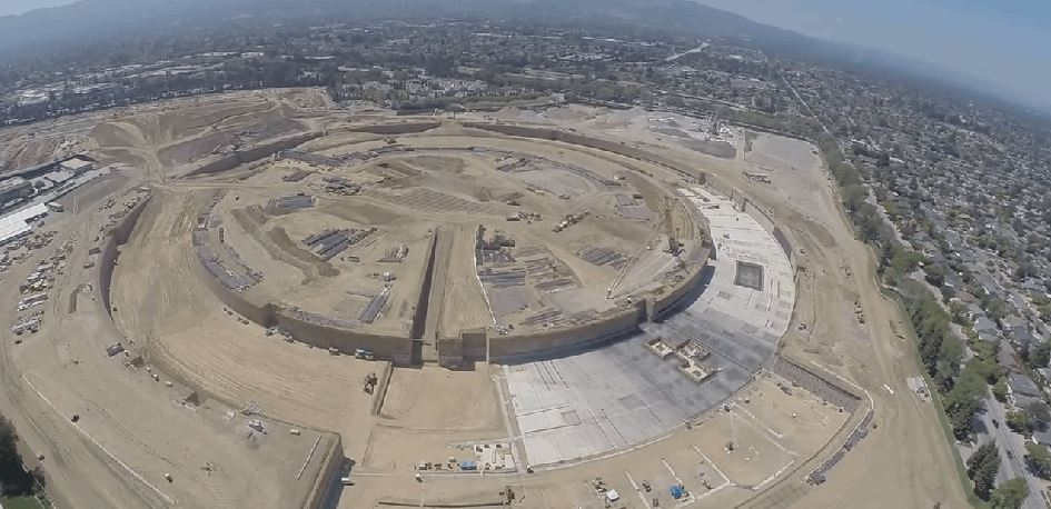 Apple's New Spaceship Campus