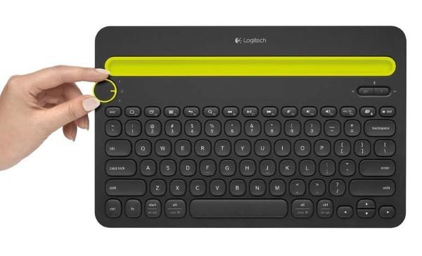 Logitechs K480 Keyboard